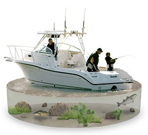 These Boats May Be The Ultimate Family Fishing And Are Most Popular In Coastal Waters Large Bays Great Lakes Where Anglers Pursue Salmon Or