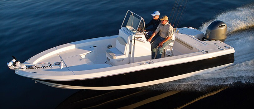 Bay boats or flats boat buyers guide discover boating for How to not get seasick on a fishing boat