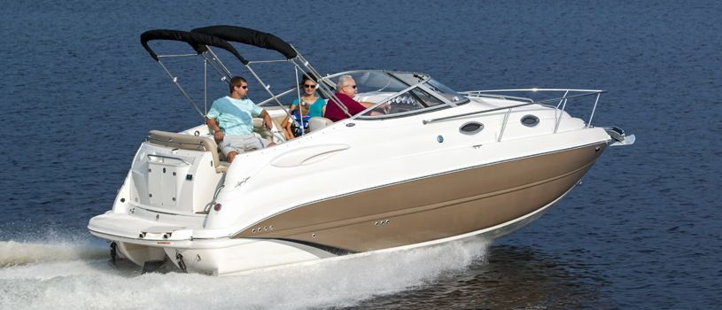 Cuddy cabin buyers guide discover boating for Best small cabin boats